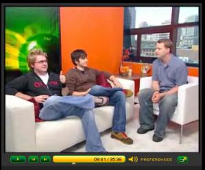 Alex Albrecht and Kevin Rose on CNET Live