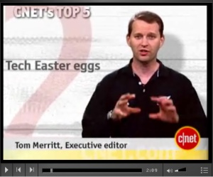 CNET Top5 easter eggs