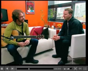 Jonathan Coulton on CNET Live
