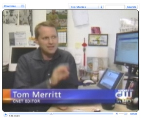 Tom Merritt on CW - CBS5