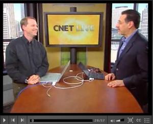 CNET Live hosts Tom Merritt and Brian Cooley